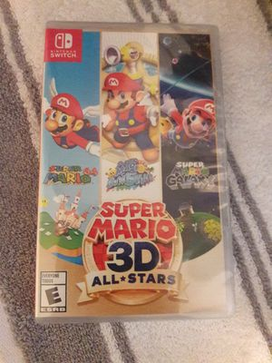 Super Mario 3D all stars Nintendo Switch for Sale in Fontana, CA