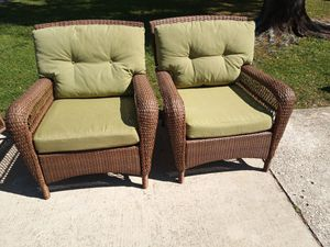 Outdoor Resin Patio Chairs for Sale in Indian Shores, FL