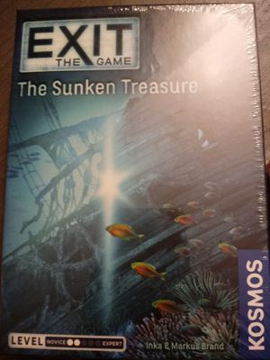 Exit the game The Sunken Treasure for Sale in Castro Valley, CA