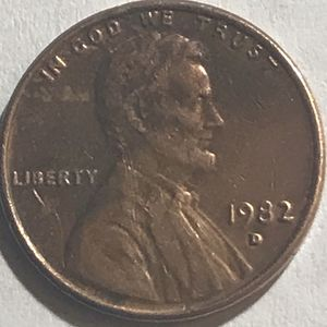 1982 D Lincoln Holy Spirit Penny for Sale in Framingham, MA