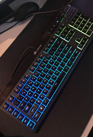 Corsair K55 Gaming Keyboard for Sale in Detroit, MI