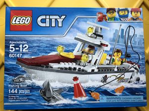 LEGO 60147 Fishing Boat NEW for Sale in Burien, WA