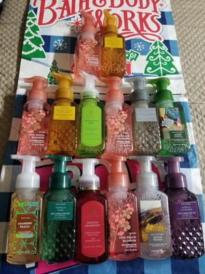 BATH AND BODY WORKS- GENTLE FOAMING HAND SOAP $6.00 EACH for Sale in Stanton, CA