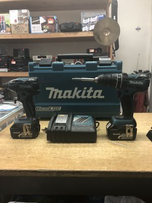 Makita XT248 18V LXT Lithium-Ion Brushless Cordless 2-Tool Combo Kit for Sale in Baltimore, MD
