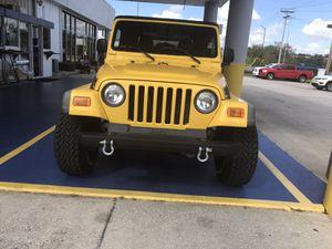 Jeep Wrangler TJ for Sale in Bartow, FL