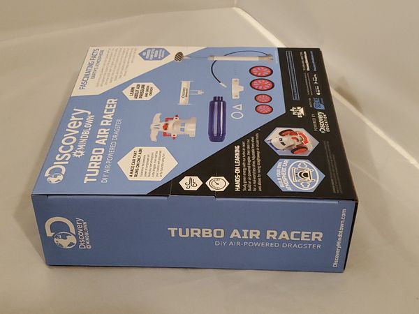 Discovery Kids Turbo Air Racer DIY Air-Powered Dragster