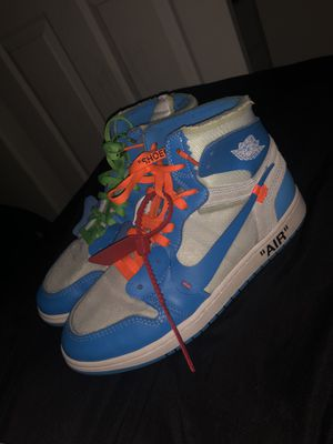 Off white Jordan 1 retro high for Sale in Hillsboro, OR