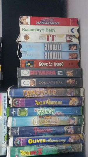 VHS DVD MOVIES for Sale in Los Angeles, CA