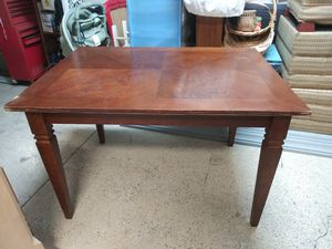 Wooden table no chairs for Sale in Bartow, FL