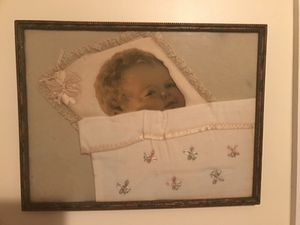 Beautiful Antique Vintage Baby Picture for Sale in Gainesville, VA
