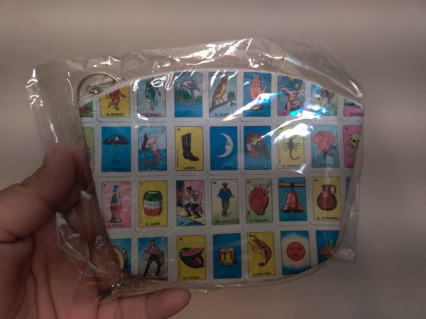 Loteria coin purse