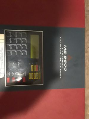 MS-9600 ADDRESSABLE FIRE ALARM CONTROL PANEL for Sale in Oakland Park, FL