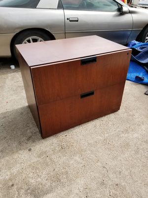 Two drawer lateral file cabinets $60 each (good condition) (2 in stock) for Sale in Houston, TX