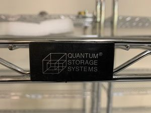 Quantum storage system 4 section wire racks w/ wheels for Sale in South San Francisco, CA