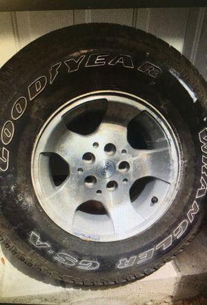 Jeep wheels set of 5 for Sale in Auburndale, FL