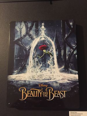Beauty and the beast steelbook for Sale in Moreno Valley, CA