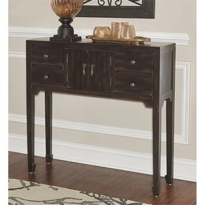 Powell Salem Console Table, Black. A14-9564 for Sale in St. Louis, MO
