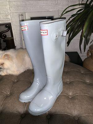 Size 5 hunter rain boots for Sale in Fullerton, CA