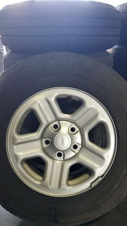 Jeep wheels and tires for Sale in West Palm Beach,  FL