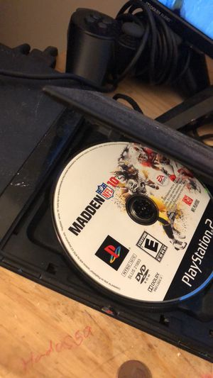 Ps2 slim with controller game and cables for Sale in Baldwin Park, CA