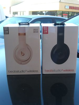 Beat studio wireless 3 for Sale in San Jose, CA