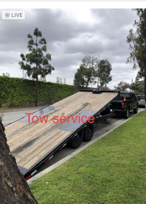 25 feet flat bed trailer for Sale in Rancho Dominguez, CA
