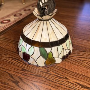 Vintage Antique Tiffany Style Blown Glass Chandelier for Sale in St. Louis, MO