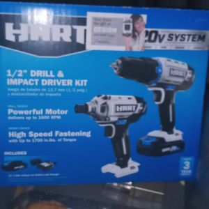 Hart 2 PC Drill Set for Sale in Orem, UT
