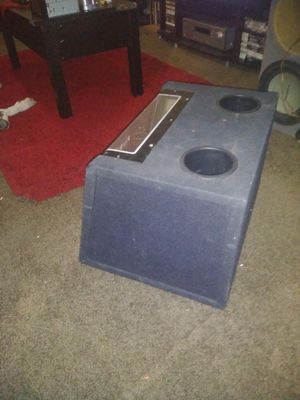 """Band pass single 12""""sub in really good condition for Sale in Phoenix, AZ"""