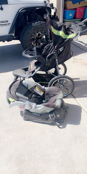 Baby car seat with bottom and stroller for Sale in Somerton, AZ