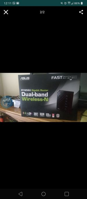 Asus Dual Band Gaming Router for Sale in Lynnwood, WA