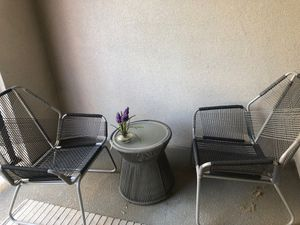 Outdoor patio furniture set for Sale in Sacramento, CA