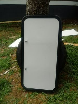 RV or cargo trailer window with cover for Sale in Youngsville, NC