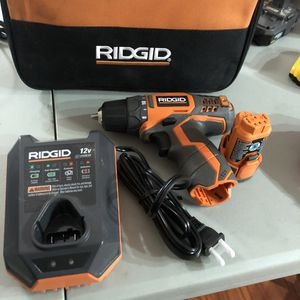 Ridgid 12v Drill for Sale in Garden Grove, CA