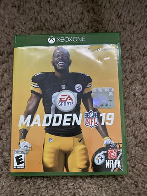 XBOX ONE Madden 19 for Sale in Beaufort, SC