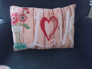"""Shabby Chic """"Love"""" pillow for Sale in Salem, OR"""