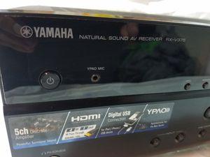 Yamaha AV reciever RC- V375 works great! for Sale in Vallejo, CA