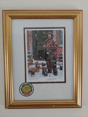 """Emmett Kelly Original """"The Circus Collection"""" """"Wall Street"""" Signed and Numbered. for Sale in Miami, FL"""