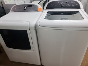 Whirlpool Cabrio washer and dryer set. Warranty and Delivery for Sale in Snellville, GA