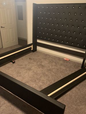 Diamond Studded King Size Bed Frame for Sale in Atlanta, GA