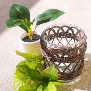 Rattan Candle Holder for Sale in Tacoma, WA