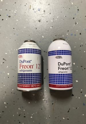 Refrigerant DuPont Freon 12. 340g cans for Sale in Gilbert, AZ