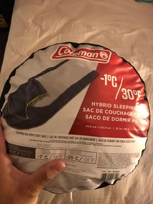 Coleman camping sleep bag for Sale in Anaheim, CA