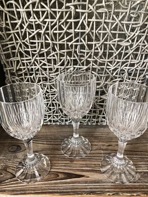 Glasses Crystal Set of 3 for Sale in Mill Creek, WA