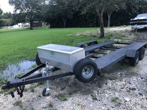 1998 7x18 Open Car Trailer for Sale in Fort Lauderdale, FL