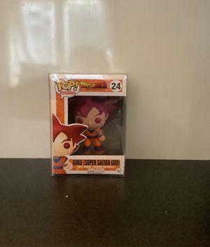 Funko pop #24 Goku Super Saiyan God DragonBall Z for Sale in San Fernando, CA