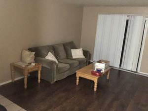 Coffe table set and couch. for Sale in San Angelo, TX