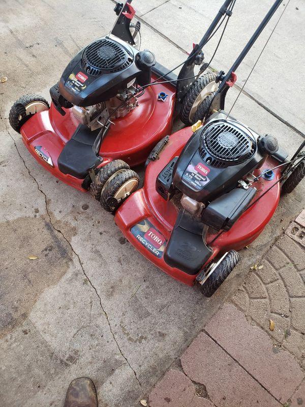Lawn mowers needs work