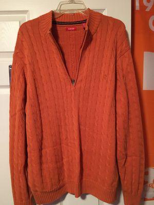 Izod XL/Tall Orange sweater for Sale in Soddy-Daisy, TN