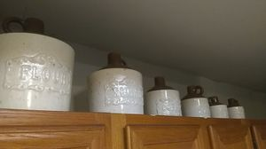 Ceramic sorting jars for Sale in Champlain, NY